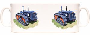 County Full Track Crawler, E27n classic tractor themed 10oz gift mug
