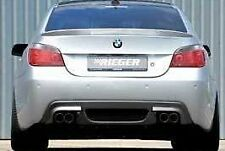 Rieger BMW E60 E61 5 Series Rear Apron Spoiler For M Technik Bumper In Primer