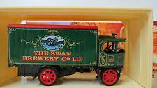1918 Atkinson Steam Wagon Swan Great beers Matchbox ygb03 sin usar en su embalaje original (FH)