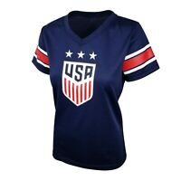 Icon Sports Group U.S.Soccer USWNT Women's Alex Morgan Polymesh Tee   - Small