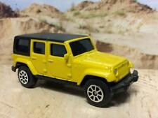 Jeep Wrangler Unlimited 4 Door Hard Top 4x4 in 1/64 Scale HTF SS7