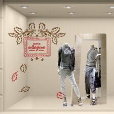 VNC0492 Nuova collezione adesivi per vetrine negozi promozioni 60x40 cm