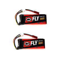 Venom volar 30C 3S 800mAh 11.1V batería LiPo con paquetes de Enchufe x2 JST