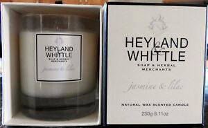 LUXURY BNIB 40 HOUR HEYLAND & WHITTLE SOY WAX CANDLE RRP £30