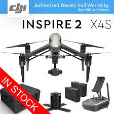 DJI INSPIRE 2 Drone w/ Zenmuse X4S 4K Camera 20MP DNG RAW. Charging Hub. Case.