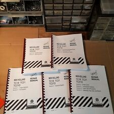 New Holland TC18 TC21 TC21D Tractor Service Manuals Ford