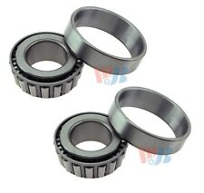 Pair 2 Front Outer WJB Wheel Bearing Race Sets for BMW Buick Dodge Benz Mazda VW