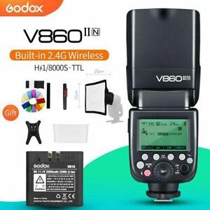 Godox V860II-N TTL Li-ion Camera Flash Speedlite Strobe for Nikon DSLR Cameras