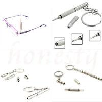 5X Accessories Phone Repair Screwdriver Tool Key Chain for Glasses Phone Watch