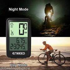 Wired Bicycle Computer Speed Speedometer Trip Timer Distance Odometer Recorder