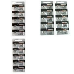 364/Sr621sw 377/376 Sr626sw 371/370 Sr920sw Energizer Watch Batteries Kit 20 Pcs