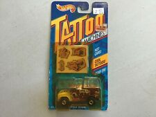 "New, 1992 Tattoo Machines ""Open Wide"" Hot Wheels, Hot Cars, Cool Tattoo"