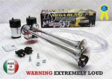 New Air Horn Loud Truck Car Trumpet Train Horns Kit Compressor Extra Loud