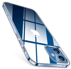 For Apple iPhone 12 11 Pro 8 7 Plus X XR S Max SE 12 Mini Transparent Clear Case