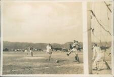Photograph Japan 1954 Iwakuni Air Base navy  Football Match pic 2 3.25 x 2.25