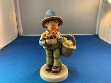 New ListingGoebel Hummel Figurine  - #378 -  Easter Greetings