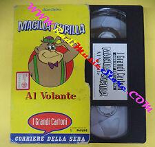 film VHS cartonata MAGILLA GORILLA AL VOLANTE grandi cartoni CORRIERE(F71)no dvd