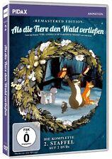 Als die Tiere den Wald verließen Staffel 2 - DVD Zeichentrick Serie Pidax Neu Ov