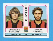 PANINI CALCIATORI 1980/81 - Figurina n.511- FERRANTE+CANNATA-TARANTO -NEW
