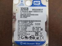 """Western Digital WD3200BEVT-26A23T0 DCM:HHCVJHNB 2.5"""" 320gb Sata Hard Drive"""