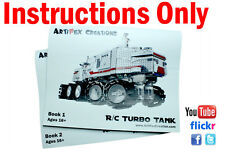 INSTRUCTION Custom Lego Star Wars RC Turbo Tank UCS 8098 10188 10179 10221 75192