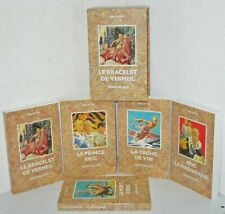 Le prince Eric. Coffret 5 volumes.Serge DALENS. Fleurus  SF1