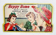 Vintage Happy Home Rust Proof Needle Book
