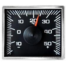 Justierbares Bimetall Thermometer mit Chromrand und Magnet Halter HR Art. 245