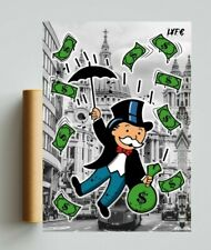 More details for monopoly x london (poster print) alec monopoly inspired - pop art  - rolex art