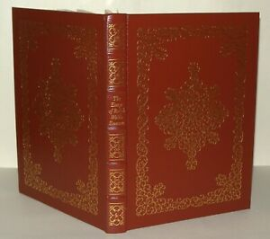 The Essays Of Ralph Waldo Emerson 1979, Easton Press Collectors Ed Leather