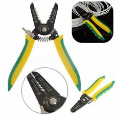 Multifunctional Cable Wire Pliers Stripper Stripping Cutter Cutting Handle Tool