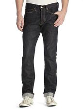 Lucky Brand 121 Selvedge Men's Slim Straight Jeans MADE IN USA $168 34x32 NEW