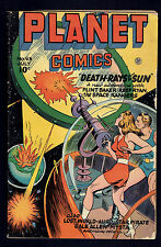 1946 Fiction House Planet Comics #43 VG-