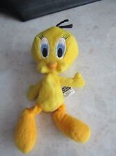 "Tweety Pie from Warner Brothers Looney Tunes 7"" plush soft toy - New"