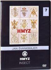 Insect ( Hmyz 2018) Jan Svankmajer DVD English, German, French, Spanish subtitle