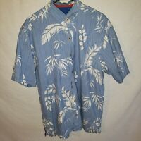 Tommy Bahama Men's Hawaiian Tropical Shirt Short Sleeve Sz Large L