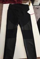NEW Ingrid & Isabel Maternity XL Active Moto Leggings + Crossover Panel
