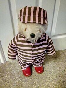 "Paddington 2 Locked up striped Jail outfit/PJs for 18"" Gabrielle Paddington bear"