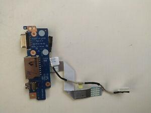Lenovo E31-70 E31-80 VGA SD Card Reader Audio Jack Board LS-C312P NBX0001RF00