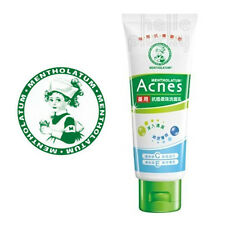 [MENTHOLATUM] Acnes Face Scrub Vitamin C & E Medicated Facial Cleanser 100g NEW