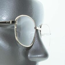 Readers Simple Gold Metal Wire Reading Glasses Oval Frame +1.00 Lens