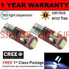 2x W5W T10 501 Canbus Nessun Errore Bianco 5 LED SMD interno LAMPADINE il104401