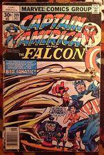 Captain America #209 Marvel Comics (1977) 2nd app Arnim Zola Jack Kirby (G/VG)