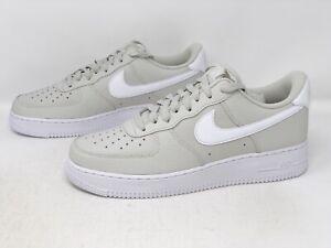 Nike Air Force 1 'Light Bone' White Sneaker, Size 10 BNIB CT2302-001