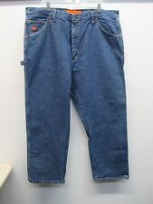 Men's Fire Resistant Wrangler Riggs Work Wear Relaxed fit jeans size 42