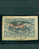 Oberschlesien, Plebiscite auf Landschaften, Nr. 36 gestempelt Briefstück