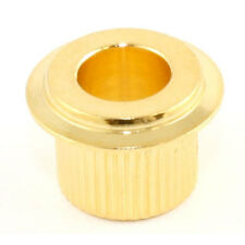 NEW (6) Gotoh Vintage Press-In Guitar Tuner Adapter Bushings - GOLD