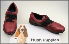 HUSH PUPPIES WOMEN'S RED FLAT CASUAL COMFORT SNEAKERS SHOES SIZE 6 C