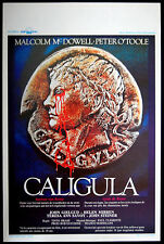 CALIGULA – ORIGINAL, X-RATED, ADULT, 1979 BELGIAN MOVIE POSTER – NEAR MINT