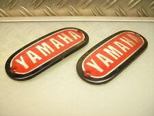 """NEUF/new """"yamaha"""" Fuel Gas réservoir badge emblème xs1 xs2/xs 650 dt1 dt2 rt1 250"""